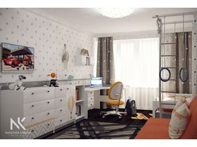 "Подростковая комната для юноши ""ГЕО"""