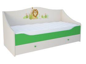 """Кровать-диван в нескольких размерах """"Джунгли зовут"""""""