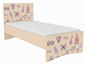 """Детская кровать """"Париж"""" в нескольких размерах"""