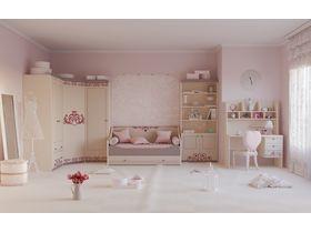 """Мебель для детской комнаты девочек """"Сиена"""""""
