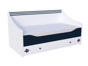 """Детская кровать-диван в нескольких размерах """"Морская"""""""