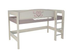 """Кровать чердак 120 см из массива бука """"Capri"""""""