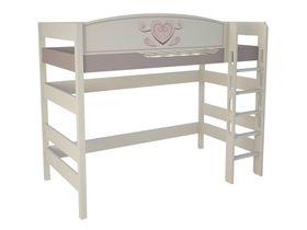 """Кровать чердак 160 см из массива бука """"Capri"""""""