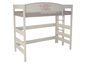 """Кровать чердак 180 см и лестницей с торца """"Capri"""""""