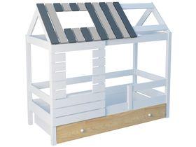 """Кровать - домик """"Eco House Small"""" см из массива бука My World"""